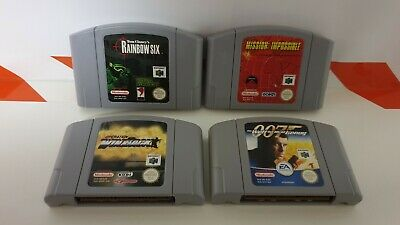 Rainbow Six & Operation WinBack & 007 & Mission Impossible Sammlung Nintendo N64