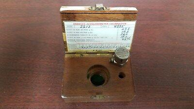 Endevco Model 2213 Accelerometer In Box