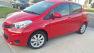 2012 Toyota Yaris YRS 12 months registration and RwC Roxburgh Park Hume Area Preview