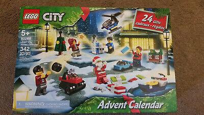 LEGO City Advent Calendar 2020 Christmas Set 60268 Holiday 342 pc NEW!!!