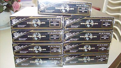 9 Unopened Boxes of 1991 World of Outlaws Cards in Foilpacks 36 Packs per box
