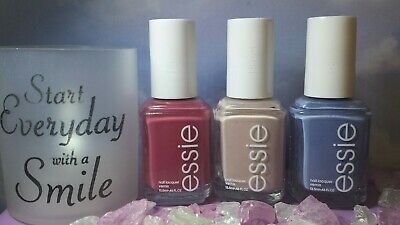3pc Essie Nail Polish Lot Set Mrs always right Topless As If!+AVON FILE!!