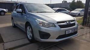 2013 Subaru Impreza Sedan AUTO LOW KMS Williamstown North Hobsons Bay Area Preview