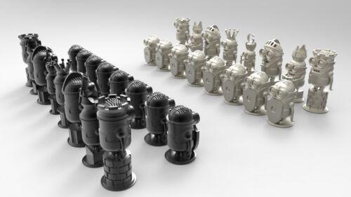 3d STL Model for CNC N009 (Minion Chess) Engraver Printer Machine Relief Artcam