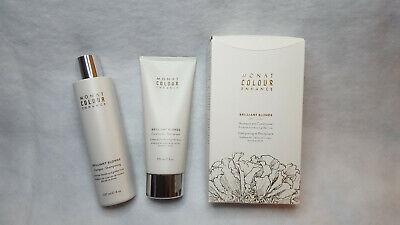Monat Color Enhancing  Shampoo & Conditioner Brilliant Blonde Duo Blonde Color Enhancing Shampoo