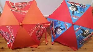 Table umbrellas outdoor thomas and cars $5 each Greystanes Parramatta Area Preview