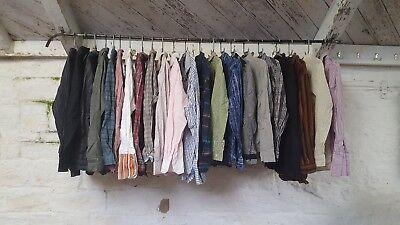 Job Lot Mens Modern Branded Long Sleeve Shirts 22x J195