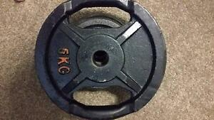 2x 5kg plates Hornsby Hornsby Area Preview