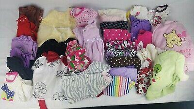 Girls 6-9 Month Clothing Lot x30 Pieces Shirts Dresses Snowsuit Leggings (#8)