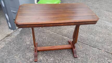 VINTAGE*RETRO*TIMBER OCCASSIONAL TABLE*STRETCHER BASE*HALL STAND*