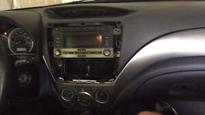 2008-2011 Subaru impreza factory stereo