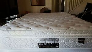 Queen size mattress and base Northbridge Perth City Area Preview