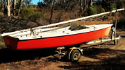 Laser style sailing boat 'Spitfire 475' with trailer Ingle Farm Salisbury Area Preview