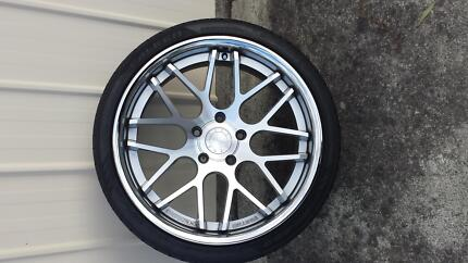 """FOR SALE: 19"""" Rims with Tyre's BMW/Commodore Jimboomba Logan Area Preview"""