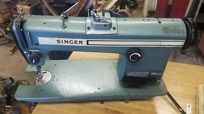 Singer Industrial Sewing Machine Model 331a 104