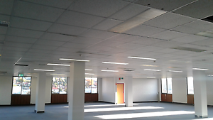 Ceiling. Suspended ceiling with lights, tiles, framework, the lot Hobart CBD Hobart City Preview