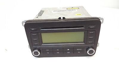 VW Touran 1T Car Stereo Radio Cd Player 1k0035186p