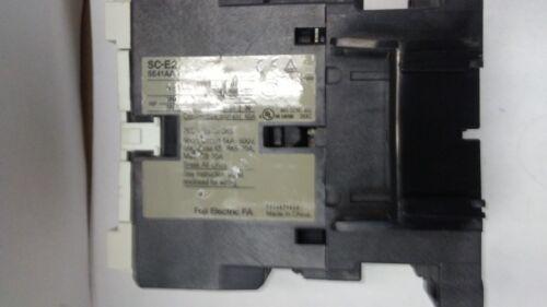 O5. FUJI ELECTRIC CONTACTOR  FA SC-E02 W/SZ-RM AND ZA22T