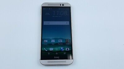 HTC One M9 32GB - Gold on Silver (AT&T) Smartphone Clean IMEI J4007