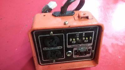 Kubota A1400 Generator Control Panel Box