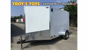 2019 Canadian Trailer Company 7X10 V-Nose Cargo Trailer