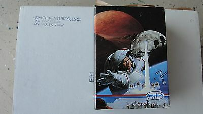 Moon Mars Boxed Trading Card Set 36 NASA Cards Neil Armstrong & Buzz Aldrin