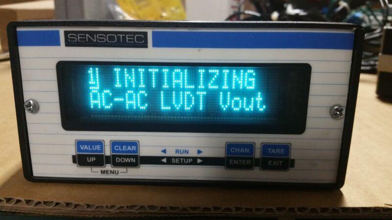 Sensotec SC2000 060-F508-48-01 with 3 Analog LVDT Inputs + (3) 060-3590-06 LVDTs