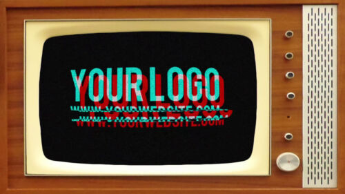 I will create this vintage TELEVISION show video intro