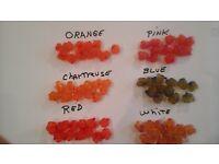 Fresh Tied Salmon Egg Sacks Steelhead 5 Dozen Packages Spawn Skein Trout