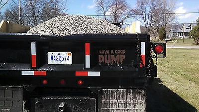 I LIKE A GOOD DUMP truck Window Decal Decals Trailer Sticker Wall Black Ops