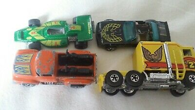 Hot wheels redlines Lot El Ray Hot Bird Hi Tail Thunder Roller good buy