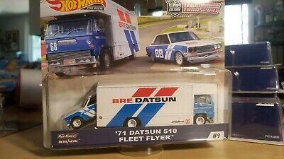 Hot Wheels 71 Datsun 510 Flyer Fleet Flyer