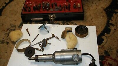 Vintage Craftsman Hand Grinder.many Pcs Model Number 315.25840 With Original Box