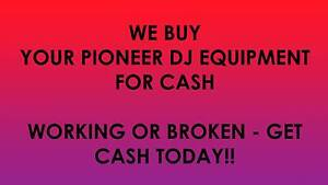 WE BUY your Pioneer CDJ and DJM for CASH working or not Top $$$ Campbelltown Campbelltown Area Preview