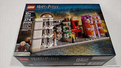 Lego Harry Potter 40289 Daigon Alley Mini Building RETIRED NISB Free Shipping!!