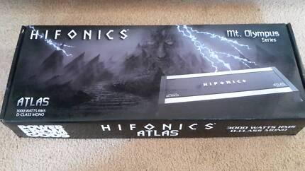 Hifonics MT Olympus Atlas amp 6k peak 3k rms