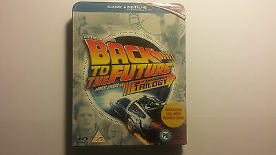 2015 Back To The Future Trilogy 30Th Anniversary Edition Blu Ray Region Free New