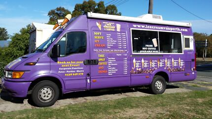 Ice cream & coffee van for hire Ellenbrook Swan Area Preview