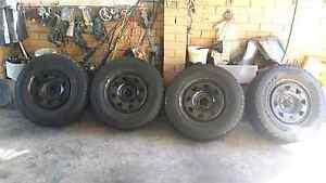 Nissan navara/pathfinder d40 sunraiser wheels 17INCH very good ty Bankstown Bankstown Area Preview