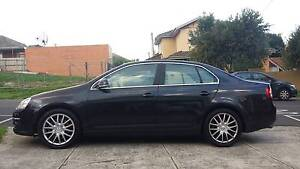 2007 Black VW Volkswagen Jetta WITH SUNROOF and LEATHER INTERIOR Essendon Moonee Valley Preview