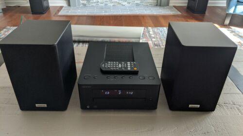 Onkyo CR-245 Mini Bookshelf Stereo System  / CD / Receiver / Ipod Dock / MINT