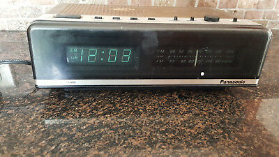 RETRO Panasonic Sure Time RC-76 Flip Radio Alarm Clock