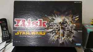 Risk Star Wars (Clone Wars) board game Mount Pleasant Melville Area Preview