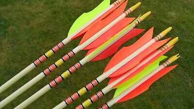 White Water Archery Clear Transparent Traditional 8a Arrow Wraps 15 Pc Pack