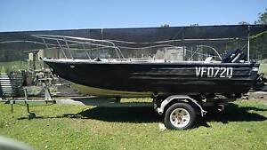 mantacraft alloy open boat + rego Morayfield Caboolture Area Preview