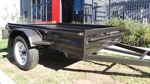 7x4 HEAVY DUTY BOX TRAILER FREE SPARE AND JOCKEY WHEEL Cardiff Lake Macquarie Area Preview