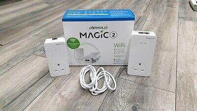 devolo Magic 2 WiFi next 2400Mbps Powerline Adapter Starter Kit