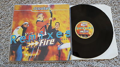 Scooter - Fire (Remixes) 12'' Vinyl Maxi
