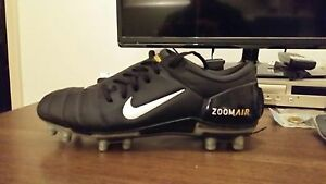 Nike Air Zoom Total 90 III FG Boots size 10 Black & Chrome Marion Marion Area Preview