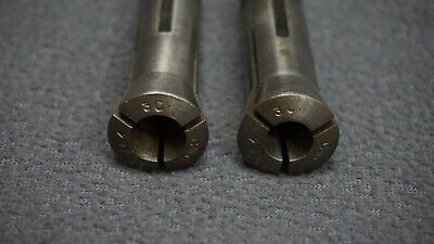 Set Of 2 Cwc 3c Round Collets - 2564 2564 Expanded To .475